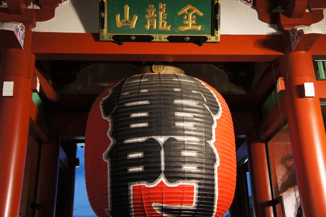 盛岩先生と浅草寺14