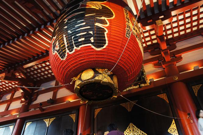 盛岩先生と浅草寺9