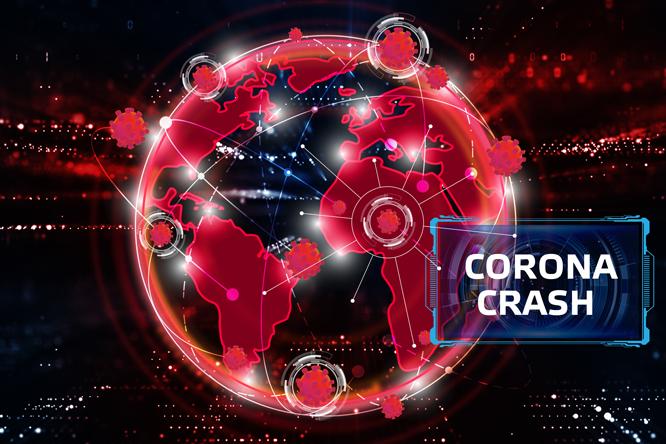 corona-crash